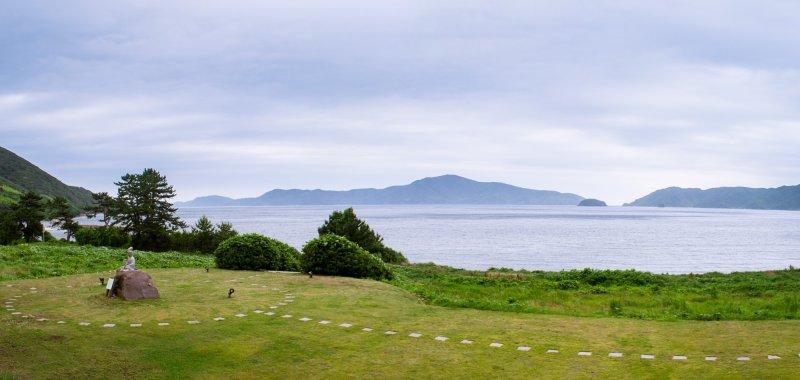 มองจ้าน้าของโรงแรม คุณสามารถมองเห็นเกาะเพื่อนบ้าน ฉิบุริจิมะ