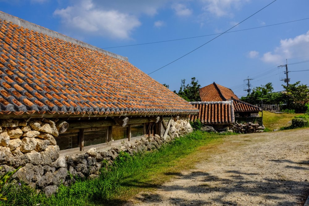 Beautiful old kiln houses are scattered throughout the village