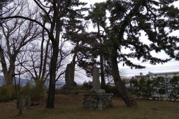 The two remaining burial grounds