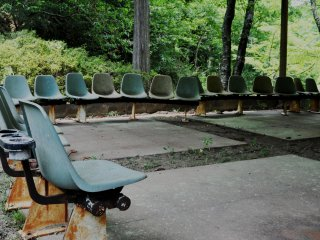 At Mizunomi-oji there is an abandoned primary school
