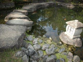 Các bậc thang bằng đá