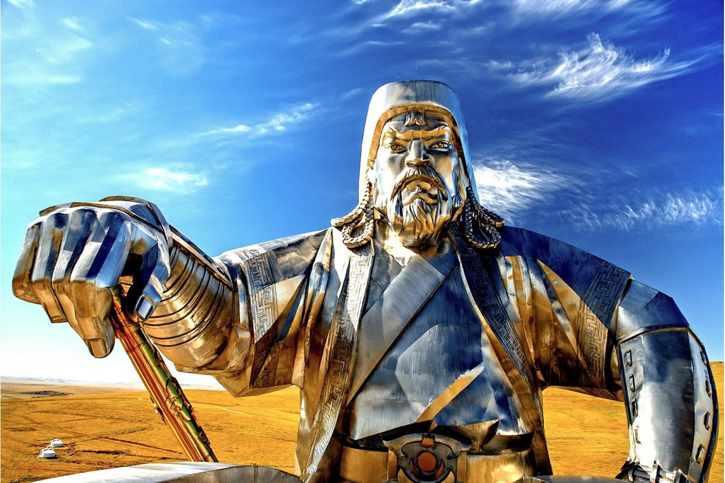 It takes nerves of steel to cook like Genghis Khan
