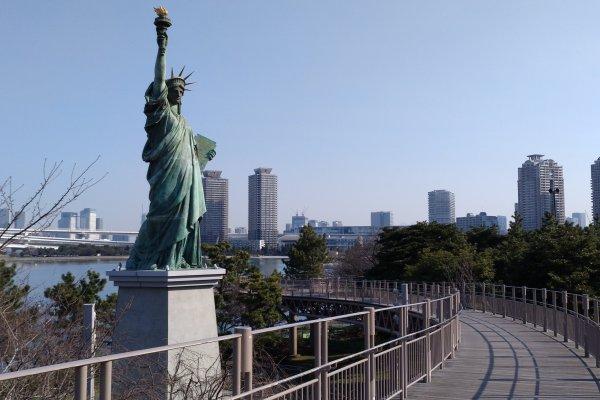 Estátua da Liberdade de Odaiba & Promenade