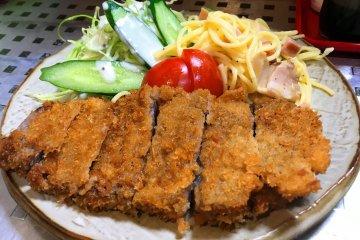 Tonkatsu from the local Daihachi eatery