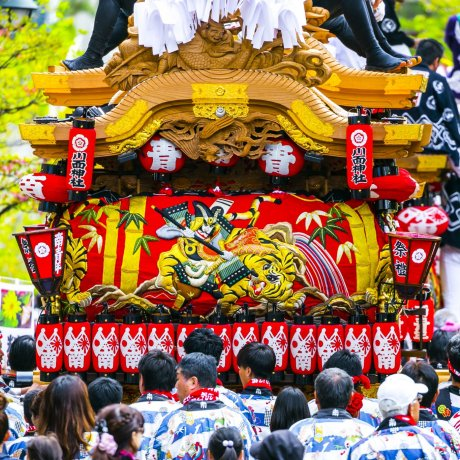 Reiwa Danjiri Parade in Kobe