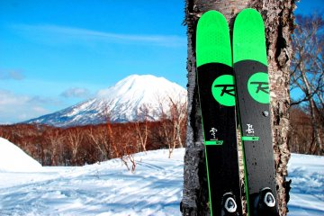 The Niseko Hanazono Ski area looks like Hokkaido's equivalent to Mount Fuji