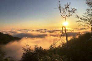 Hokkaido Sunrise at Tomamu