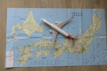 QF 39 flies from Sydney on Monday, Wednesday and Saturday at 0930 and arrives at Sapporo's New Chitose Airport at 1835