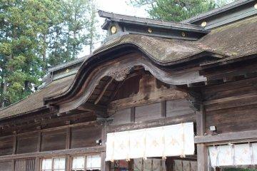 Храм Осаки Хатимангу, основанный Датэ Масамунэ