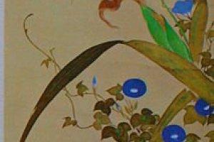 Sakai Hoitsu, painting on silk