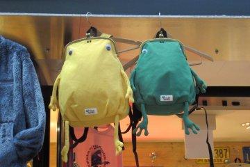 Забавные рюкзачки