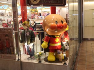 You'll find Anpanman everywhere!