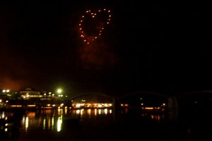 "We all ""heart"" fireworks"