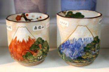 Кружки с изображением Фудзи-сан