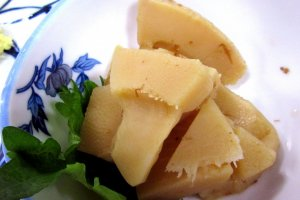 Побеги бамбука - весенняя еда