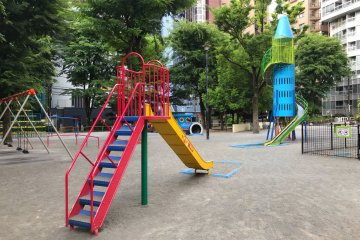 There is plenty to do for a small urban park