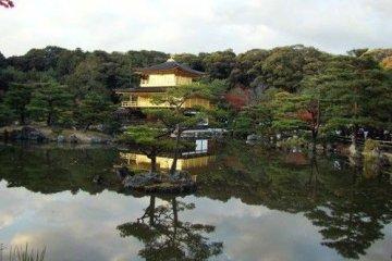 美丽到难以言表的金阁寺