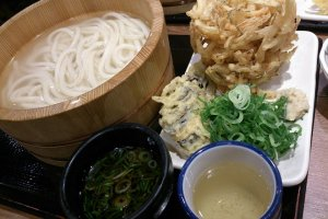 Kumagaya's famous udon noodles, made with locally grown wheat.