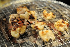 Grilled tripe, or horumon in Japanese, is tried and tested evening staple of Kumagaya