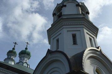 The Hakodate Orthodox Church up close