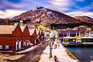 Hakodate is stunning in winter and summer