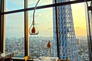 Captivating view of Tokyo Skytree Tower and the surrounding city