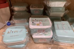 Bento boxes with Snoopy