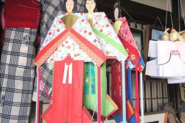 Tanabata paper dolls