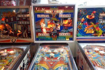Retro lovers will go nuts over these pinball machines