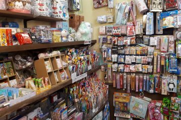 Wall to wall filled with old style goodies