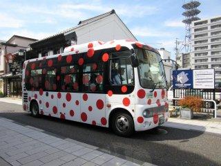 City bus of Matsumoto hi