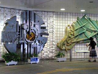 'Musical Instruments' - sculpture composition in Hamamatsu