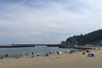 热海sun beach,在这里吹吹浪漫的海风吧