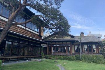 非常漂亮的日式庭园——起云阁