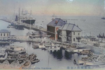 What the pier looked like long ago.