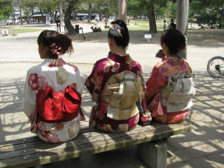 Beautiful yukata!