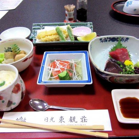 The Monster Ryokan Meal