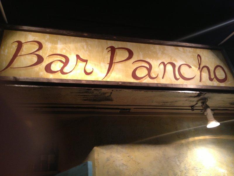Bar Pancho 간판부터 분위기가 물씬!