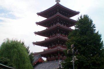 Пятиэтажная пагода