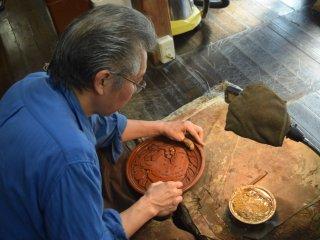 Watching artisans at work is fascinating