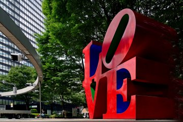 Shinjuku's LOVE Sculpture