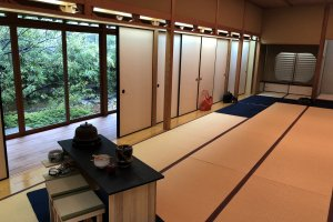 Relaxing Japanese atmosphere of Hoshoan