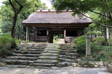 Entrance of Amidaji temple