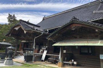 Amidaji temple, famous for hydrangeas