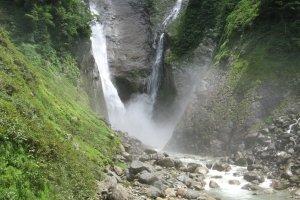 Shomyo Falls in Tateyama