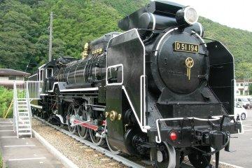 Steam train in Shimane Prefecture