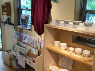 Exquisite pottery, limited print children's books.