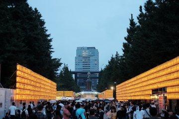 Mitama Matsuri em Tóquio