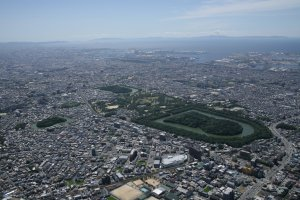 Mozu Kofu from the north-east