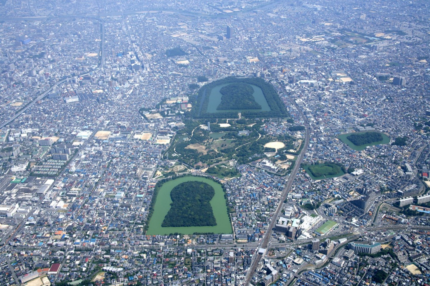 Mozu Kofu from the south-west